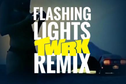 KANYE WEST – FLASHING LIGHTS (TWRK REMIX)