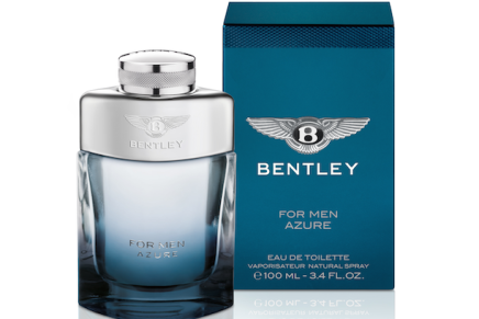 WASH BAG ESSENTIAL: BENTLEY AZURE FRAGRANCE