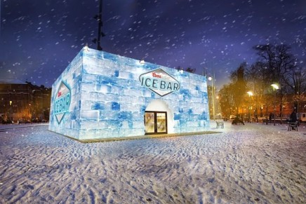 COORS LIGHT'S POP UP ICE BAR IN BRIXTON