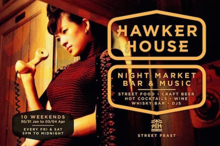 The Hawker House Indoor Street Food Market in Haggerston