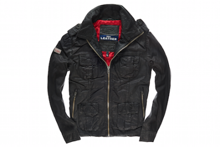 Three of The Best Superdry Leather Jackets