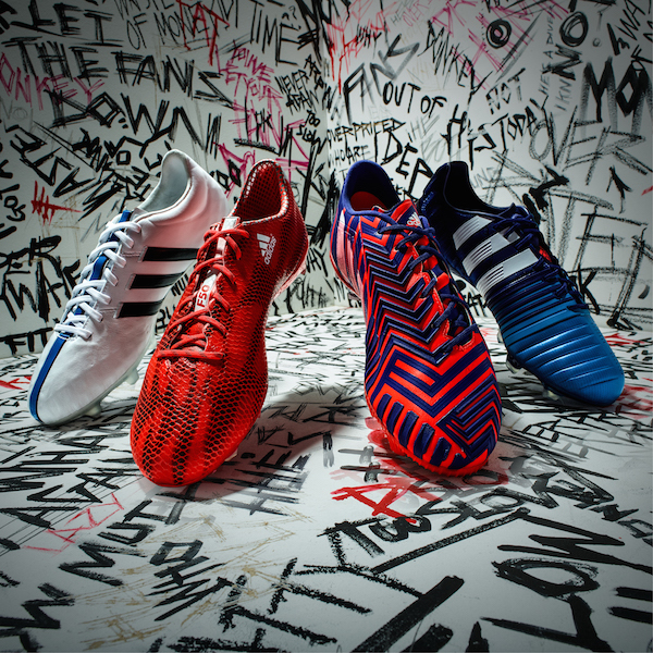 Condimento Cilios medio litro  adidas Unveils 'There Will Be Haters' Football Boot Range - Tinman London