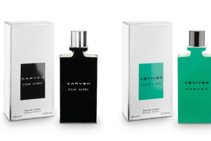 Carven Vétiver and Carven Pour Homme Fragrances