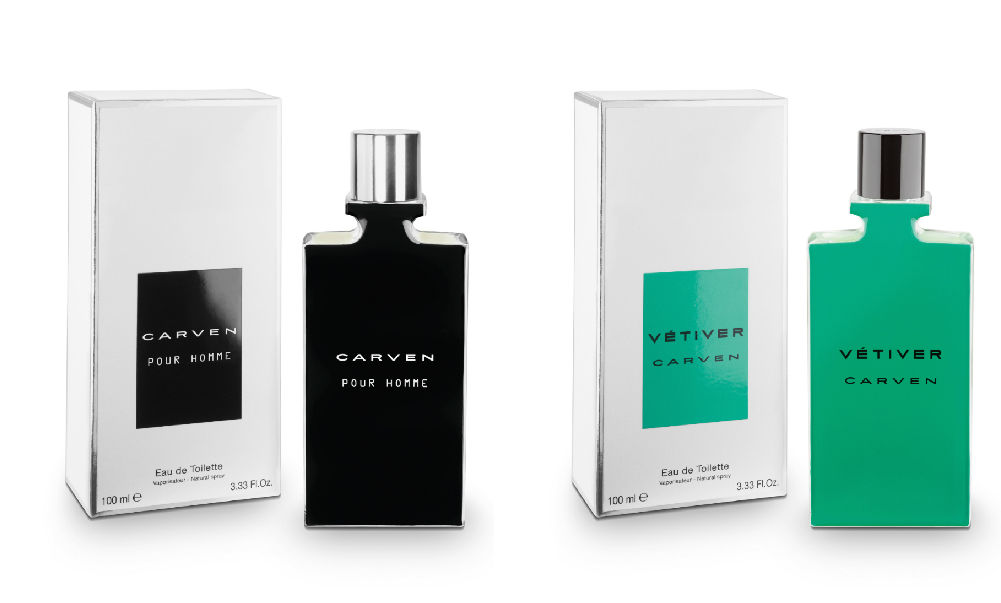 great fit good cost charm Carven Vétiver and Carven Pour Homme Fragrances - Tinman London
