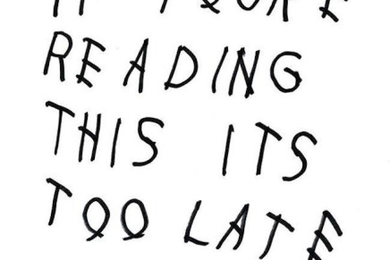 Drake releases Surprise 'If You're Reading This It's Too Late' Mixtape