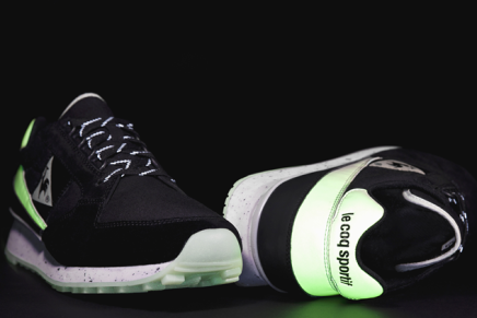 Le Coq Sportif Introduces Glow In The Dark Eclat