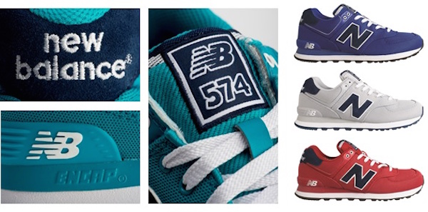 new balance 574 pique polo collection
