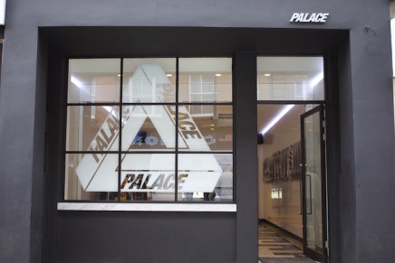 Palace opens store in Brewer Street, Soho.
