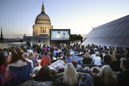 25 Films, 3 Rooftops: 'On The Roof' Outdoor Cinema with Press Play