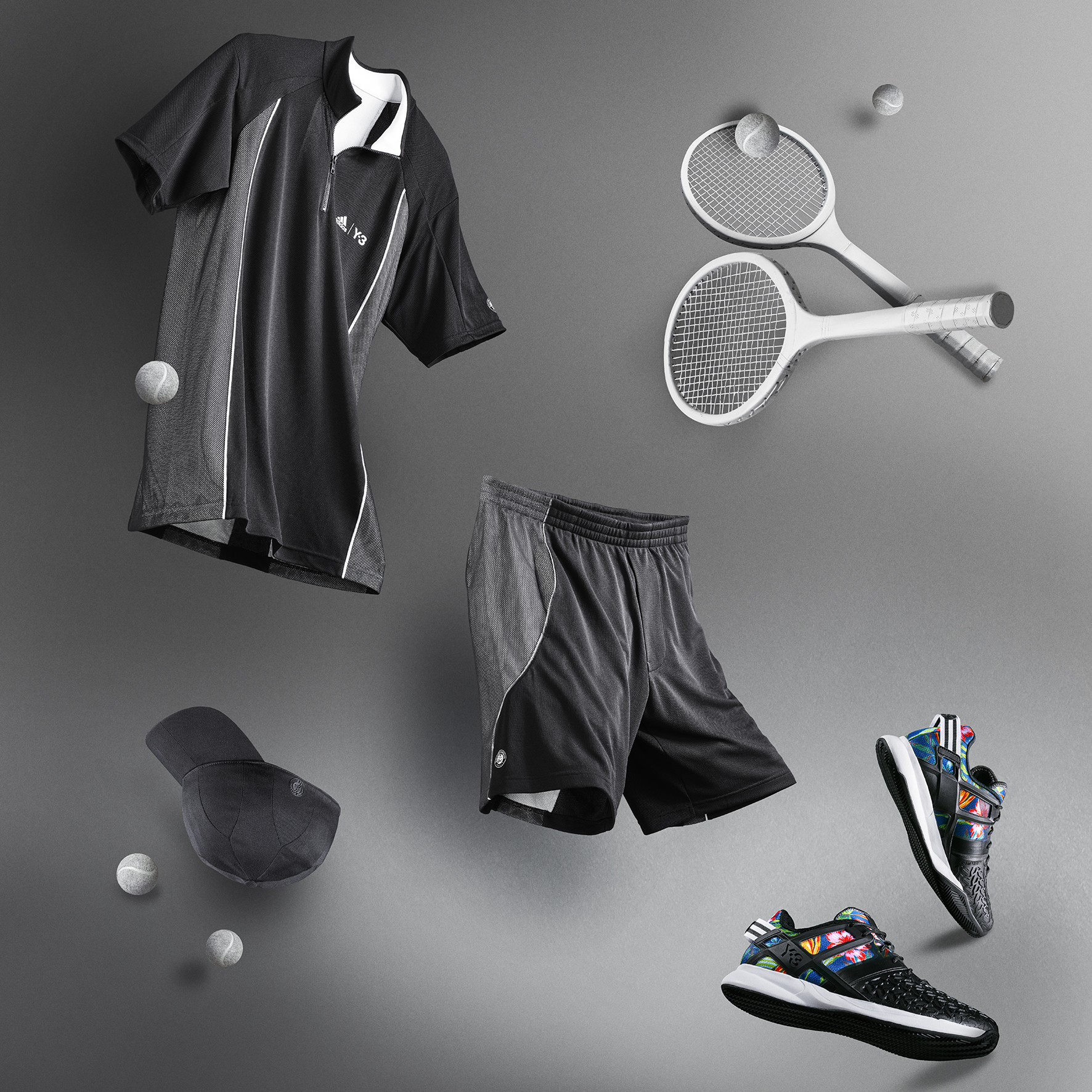 adidas y-3 rolland garros collection