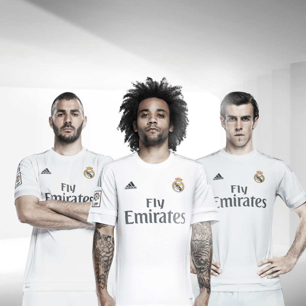 real madrid home shirt 15/16