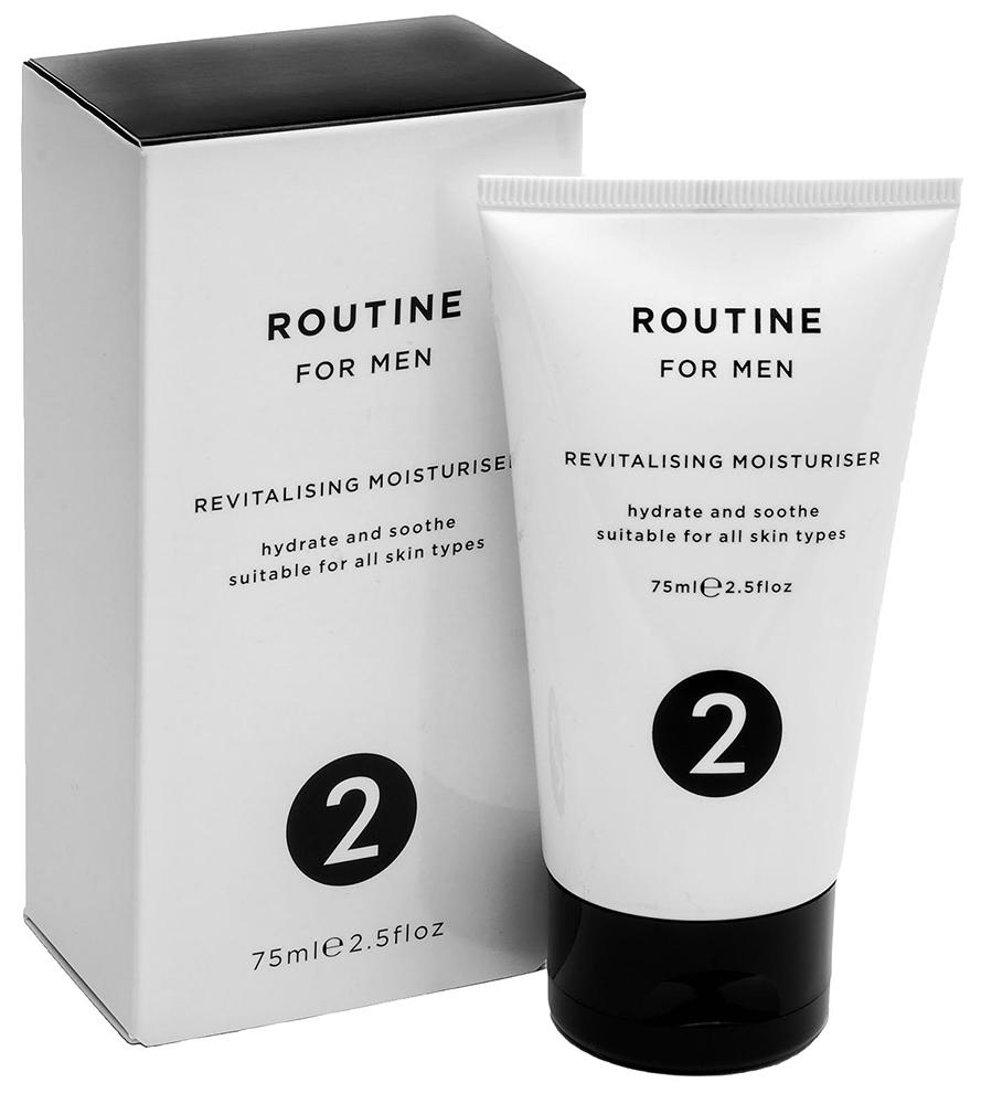 routine for men moisturiser