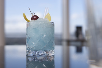 BOSS THE COCKTAIL: How to Make a Frozen Aviation