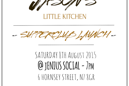 Jason's Little Kitchen to Host West African Supper Club in Islington