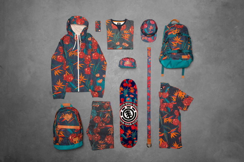 element sketch floral collection 2015
