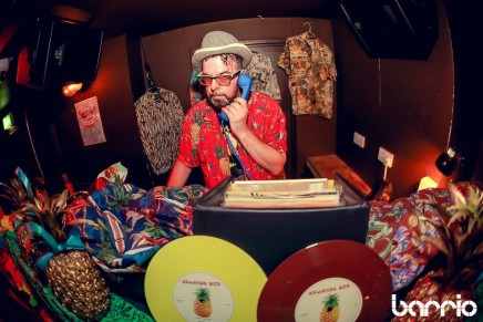 Hawaiian Bop Bank Holiday Party at Barrio Shoreditch