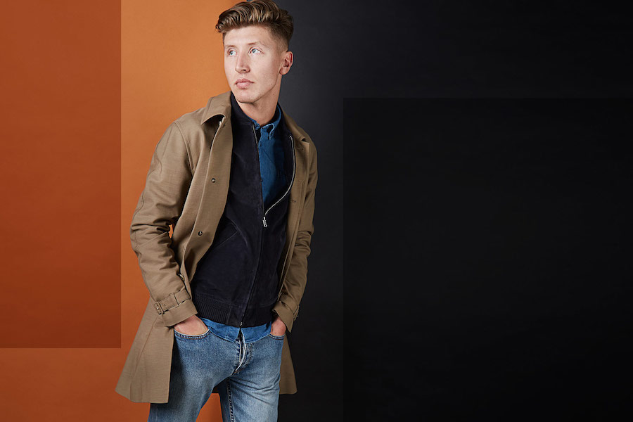A.P.C. OXFORD MAC