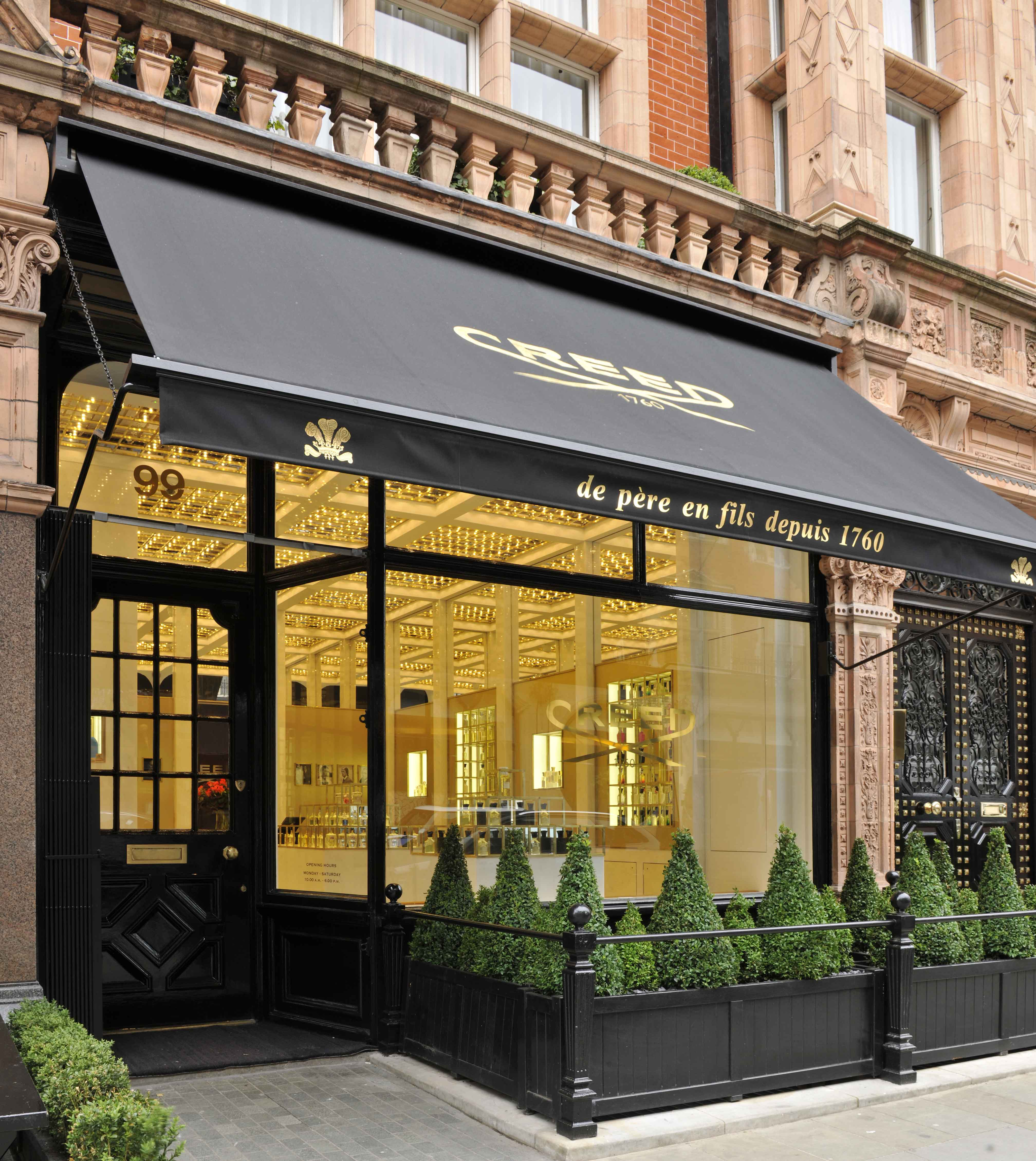 The house of creed opens at 99 mount street mayfair for The mayfair
