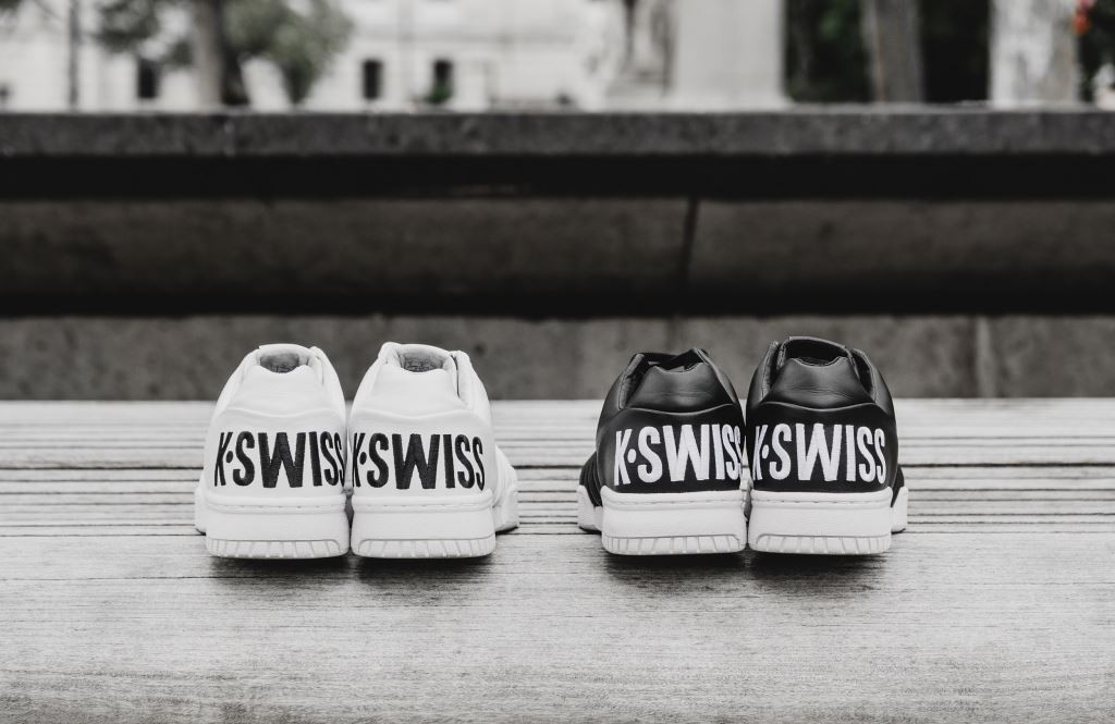 785a5e014c09f The Return of the K-SWISS Gstaad Big Logo - Tinman London