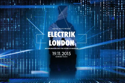 #ElectrikLondon with Absolut at Bankside Vaults