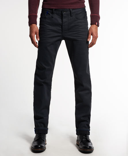 idris x superdry call sheet jeans grey