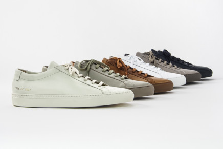 Common Projects Preview SS16 Collection