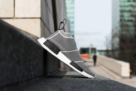 adidas Unveils NMD City Sock in Black and White