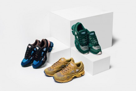 Raf Simons x adidas Unveil New Ozweego 2 Colorways
