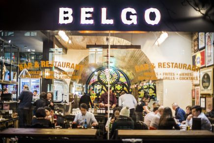 Cocktails & Dinner at Belgo Holborn