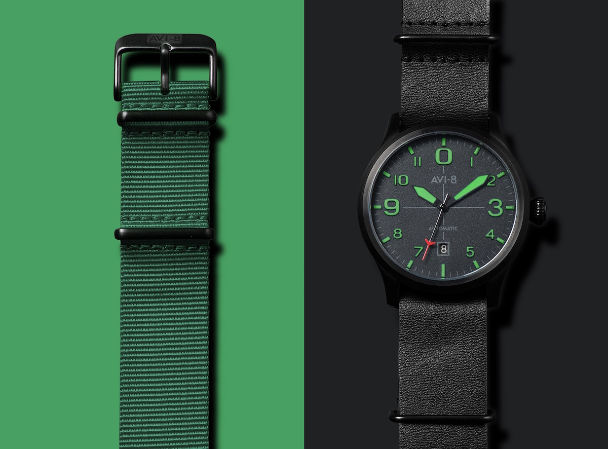 AVI-8 FLYBOY BLACKTONE Green