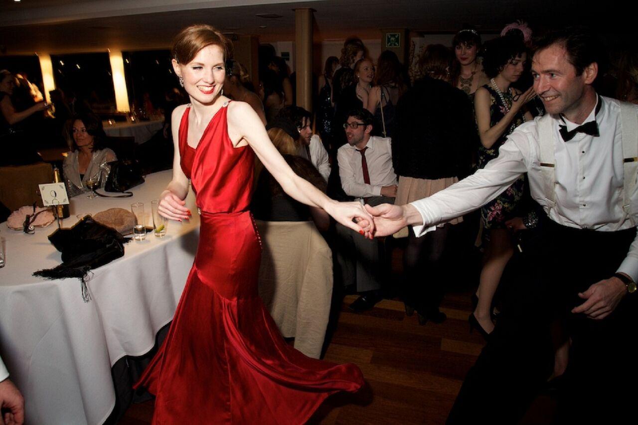 ocean liner party dancing