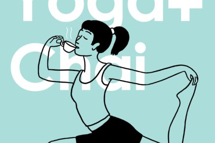 Monday Yoga+Chai at 71a Gallery