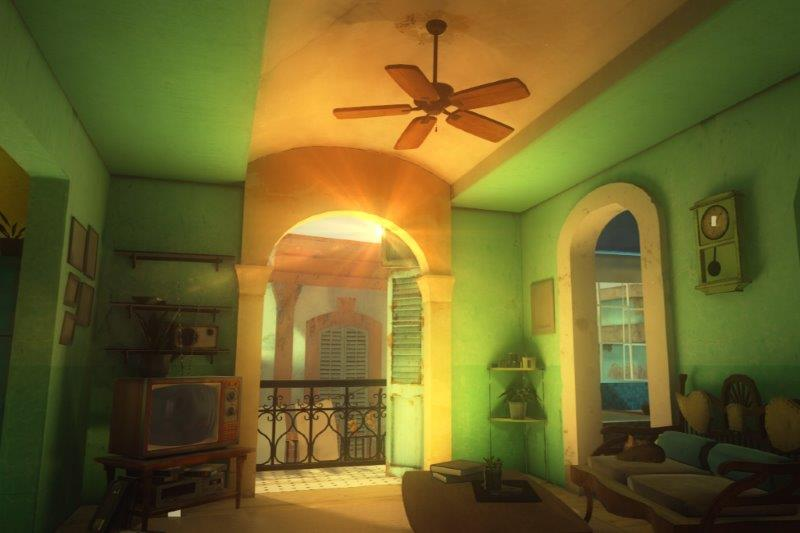 Casa Havana. VR Render. 5