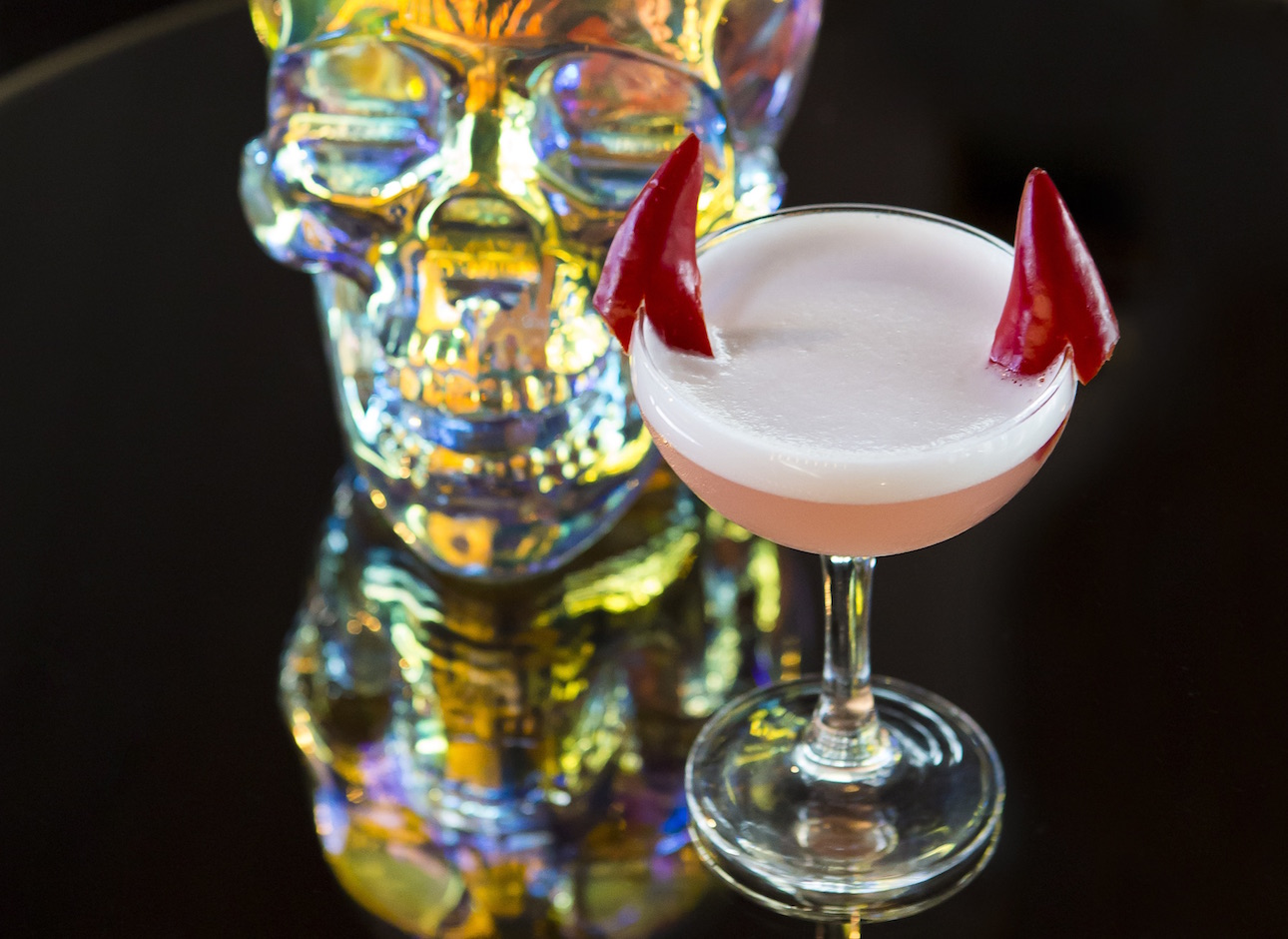 "Crystal Head Vodka Aurora cocktail ""High Whey to Hell"""