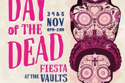 Wahaca's Day of The Dead Fiesta @ The Vaults, Waterloo